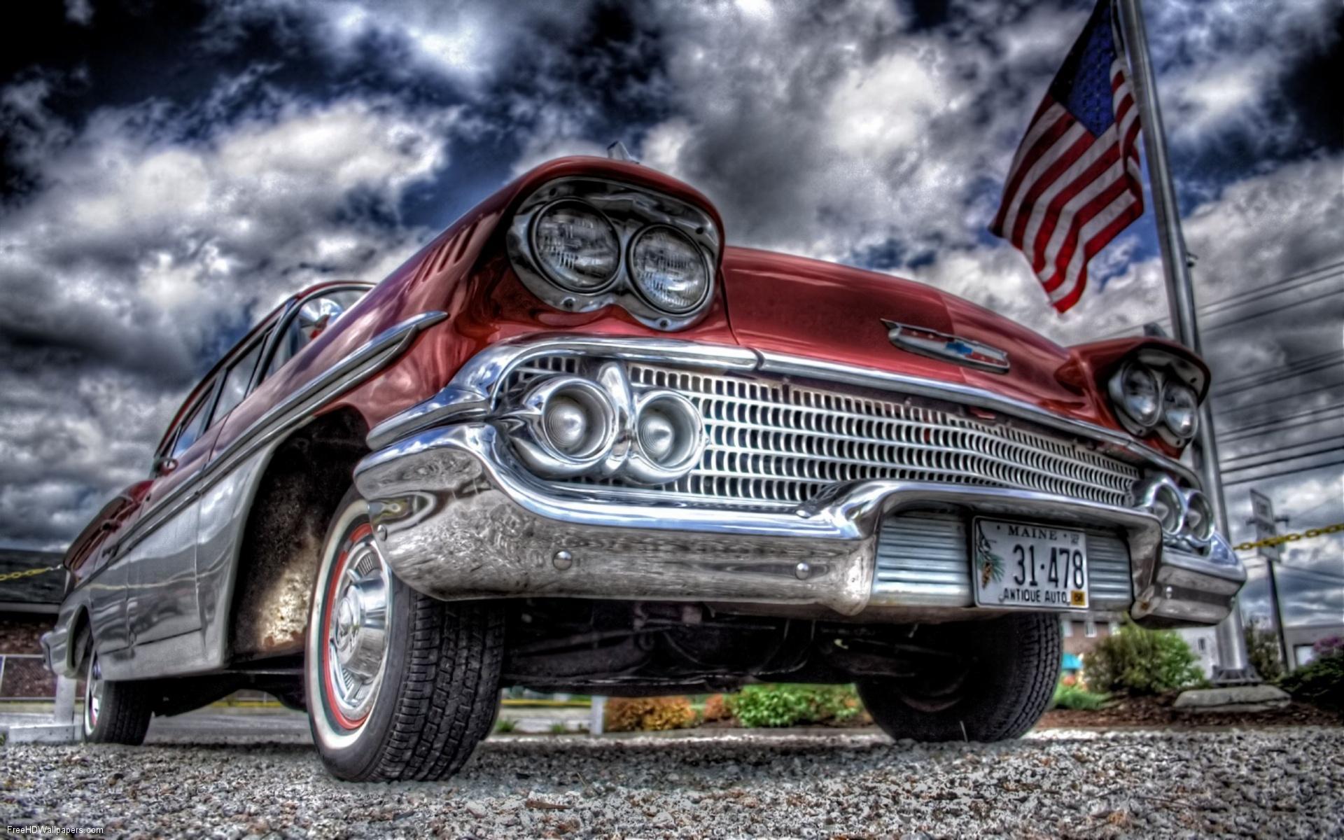 ... HD Vintage Car Wallpaper (4) ...