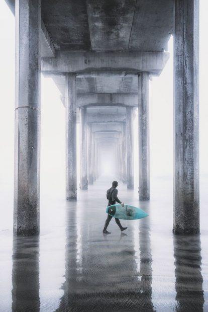 Scripps Fog by Austin Trigg