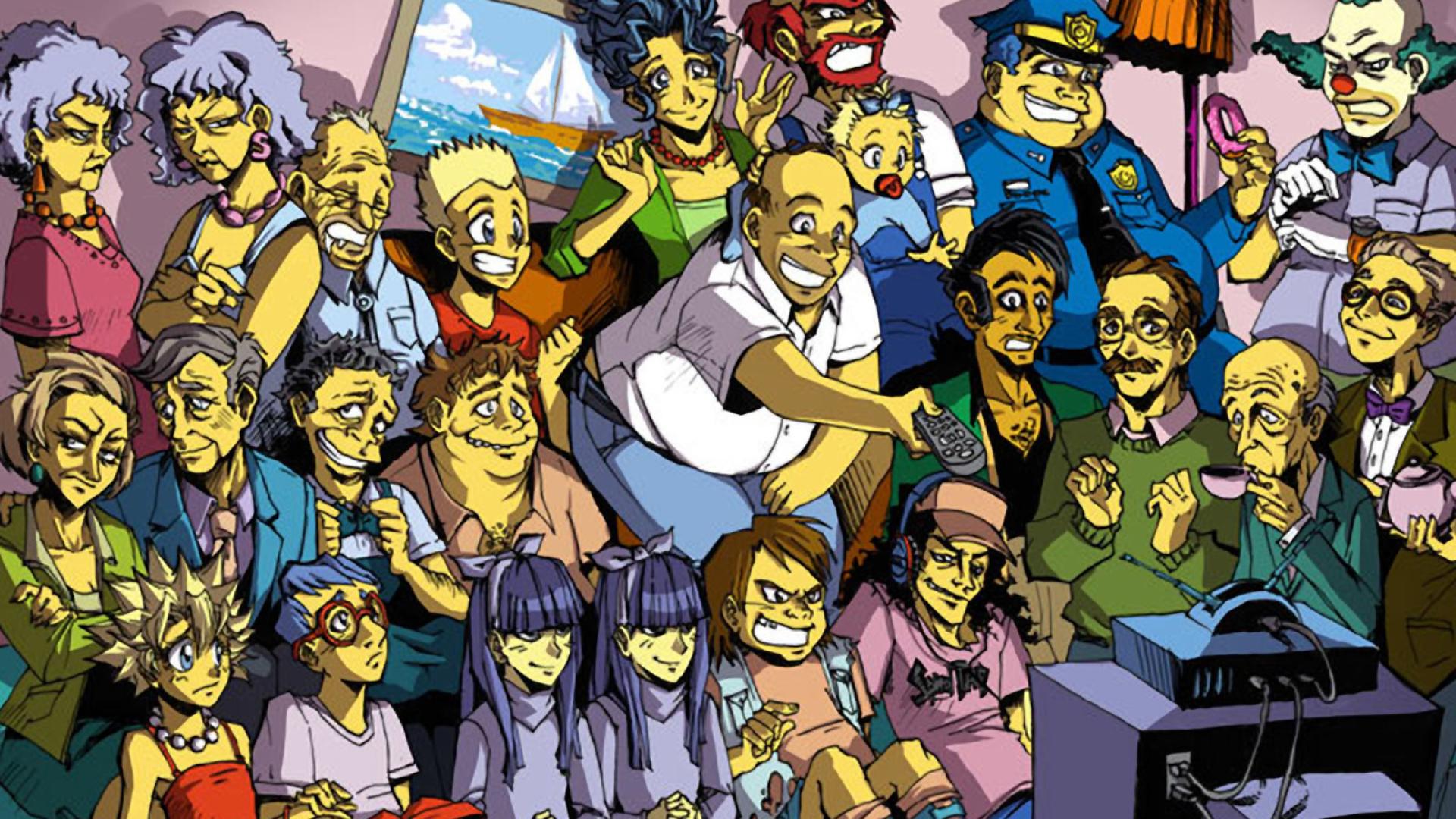 The Simpsons Wallpaper Colormunk Com