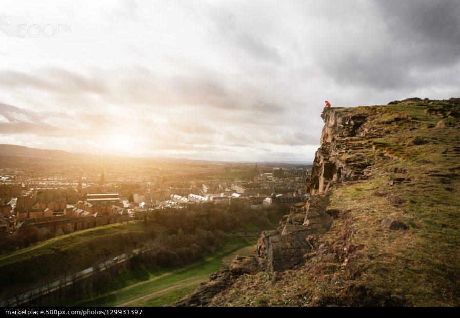 500px Photo ID: 129931397 - Edimburgh, Scotland from the seat of king Arthur.