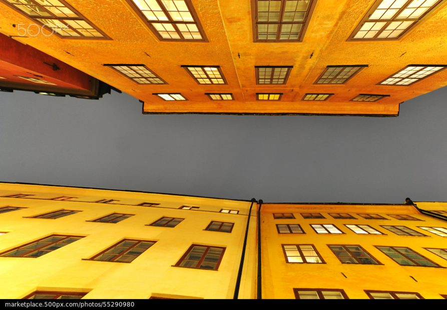 500px Photo ID: 55290980 - Facade at Gamla Stan, Stockholm.