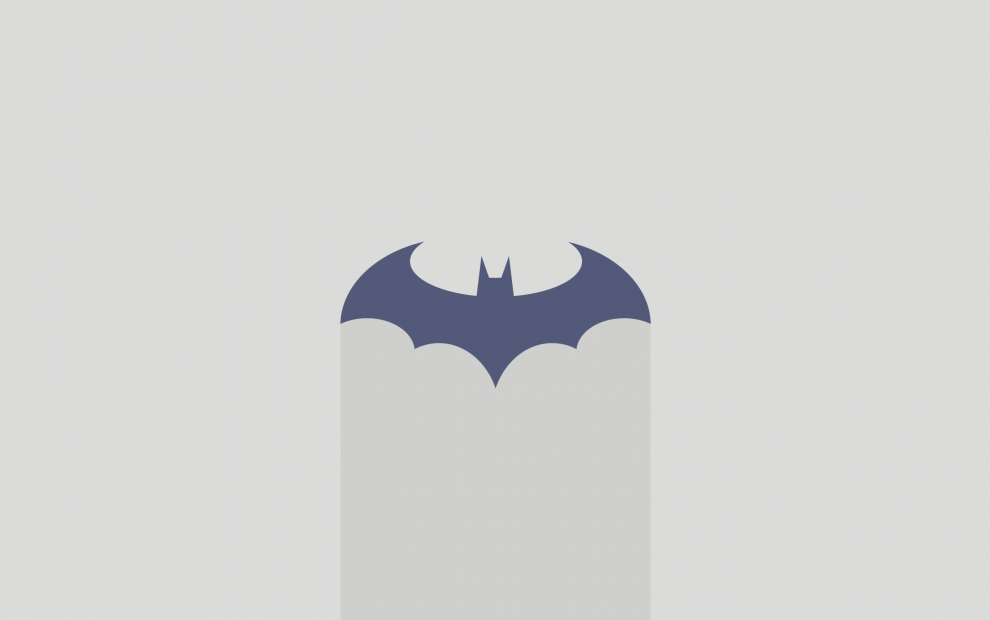Batman-minimalist-wallpaper-light