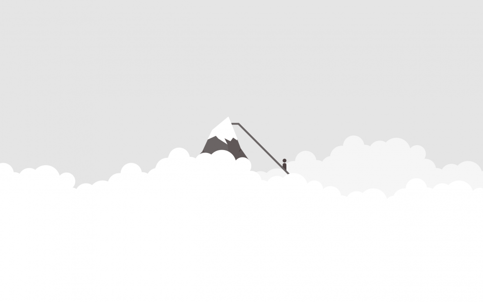 Everest-minimalist-wallpaper-light