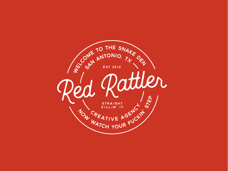 Red Rattler Insignia