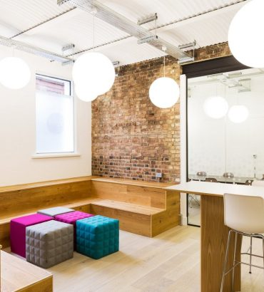 10 Office Design with Tiered Seating Areas