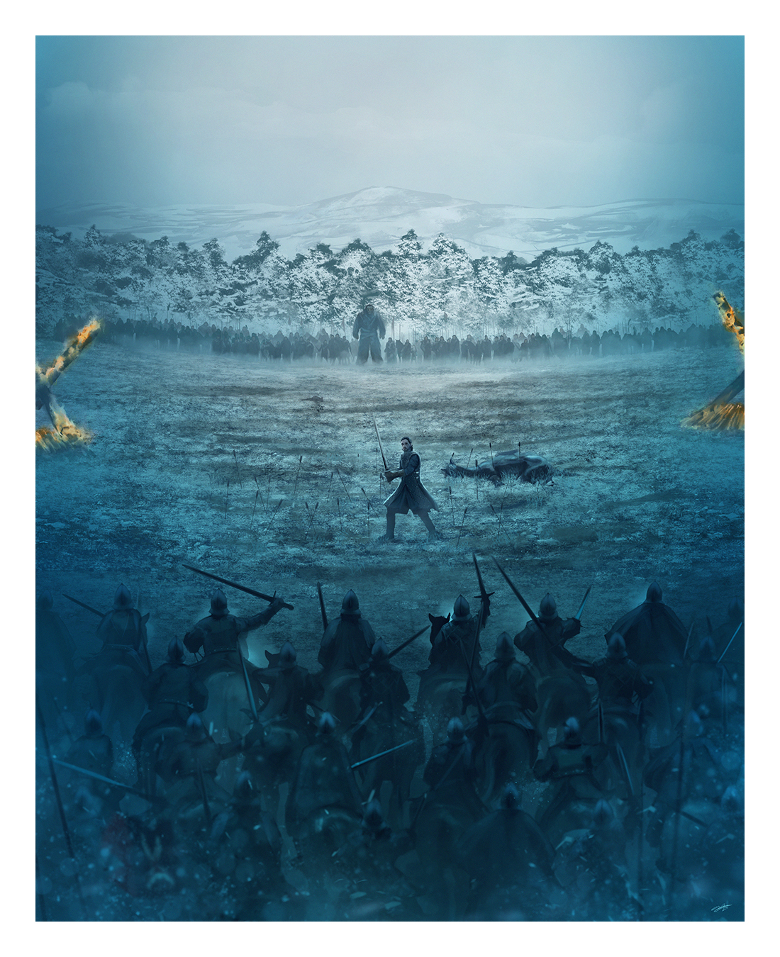 Battle Of The Bastards by Andy Fairhurst