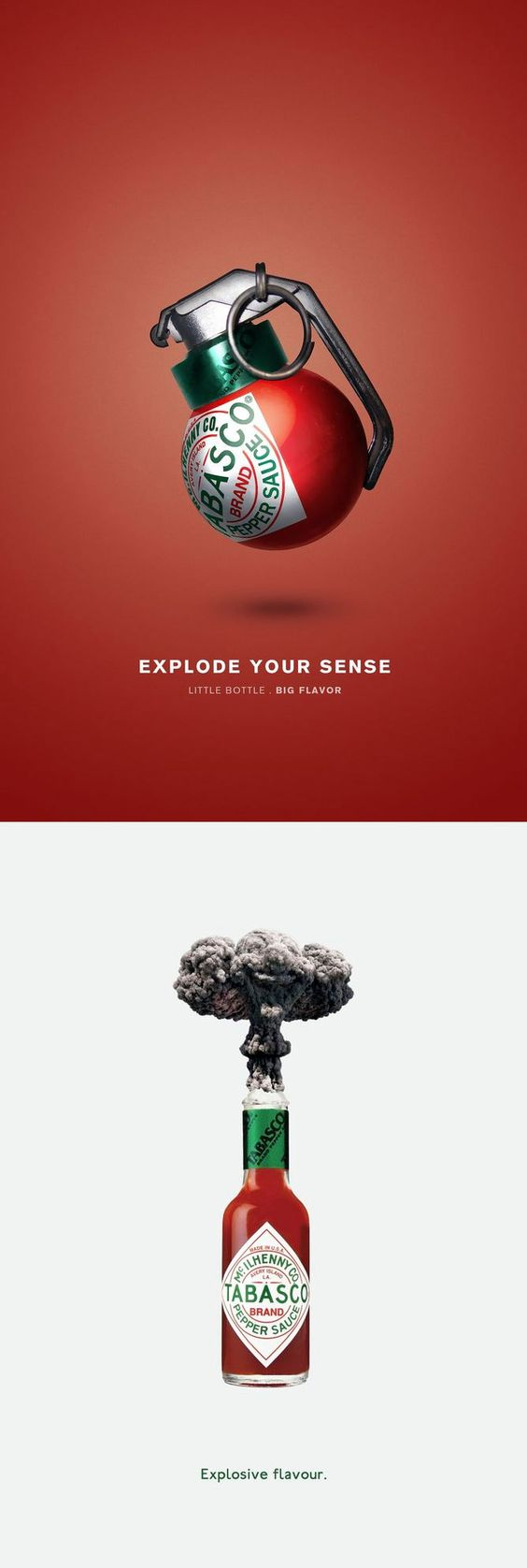 25 really clever and creative print ads