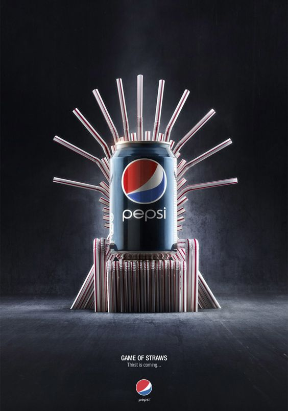 PEPSI - GAME OF STRAWS